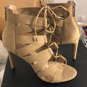 Charles David straps heels